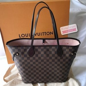 Made in France! Louis Vuitton Neverfull MM Rose